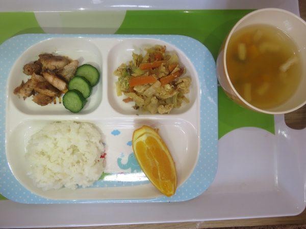 12:00~ 給食