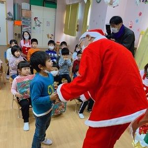 サンタが来たよ!クリスマス会②