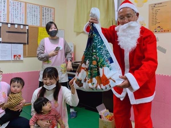 サンタが来たよ!クリスマス会①